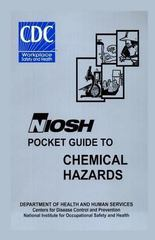 NIOSH Pocket Guide to Chemical Hazards 1st Edition 9781470098858 1470098857