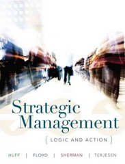 Strategic Management 1st Edition 9780471017936 0471017930