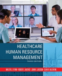 Healthcare Human Resource Management 3rd Edition 9781305464964 1305464966