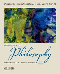 Introduction to Philosophy 6th Edition 9780199812998 0199812993