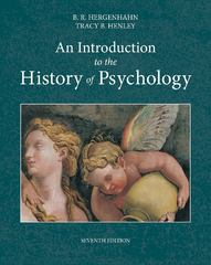An Introduction to the History of Psychology 7th Edition 9781133958093 1133958095