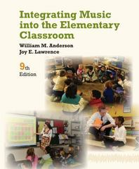 Integrating Music into the Elementary Classroom 9th Edition 9781133957973 1133957978