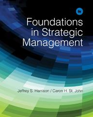 Foundations in Strategic Management 6th Edition 9781285057392 1285057392