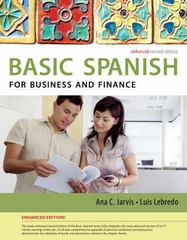 Spanish for Business and Finance Enhanced Edition: The Basic Spanish Series 2nd Edition 9781285052236 1285052234