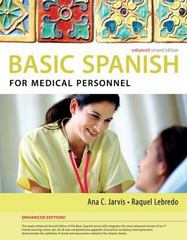 Spanish for Medical Personnel Enhanced Edition 2nd Edition 9781285052182 1285052188