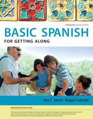 Spanish for Getting Along Enhanced Edition: The Basic Spanish Series 2nd Edition 9781285052175 128505217X