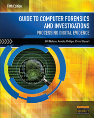 Guide to Computer Forensics and Investigations 5th Edition 9781305176089 1305176081