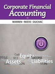 Corporate Financial Accounting 12th edition 9781133952411 1133952410