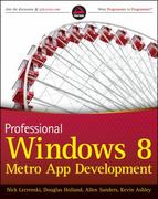 Professional Windows 8 Programming 1st edition 9781118205709 1118205707