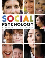 Social Psychology 1st Edition 9780471250265 0471250260
