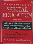 Encyclopedia of Special Education 2nd edition 9780471253242 0471253243