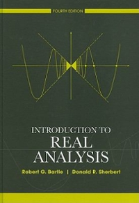 Introduction to Real Analysis 4th Edition 9780471433316 0471433314