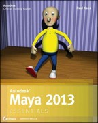 Autodesk Maya 2013 Essentials 1st Edition 9781118167748 1118167740