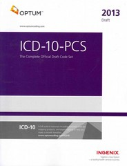 ICD-10-PCS 2013 1st Edition 9781601516312 1601516312