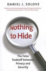 Nothing to Hide 1st Edition 9780300172331 0300172338