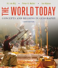 The World Today 6th Edition 9781118411599 1118411595