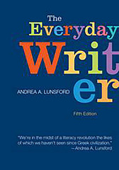 The Everyday Writer 5th Edition 9781457600043 1457600048