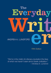 The Everyday Writer 5th Edition 9781457612695 1457612690