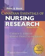 Canadian Essentials of Nursing Research 2nd edition 9780781784160 0781784166