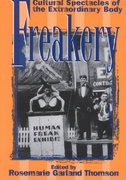 Freakery 1st Edition 9780814782224 0814782221