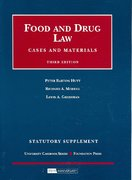 Food and Drug Law Statutory Supplement 3rd edition 9781599414560 1599414562