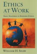 Ethics at Work 1st Edition 9780195139426 0195139429