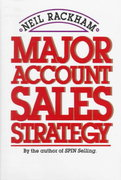 Major Account Sales Strategy 1st edition 9780070511149 0070511144