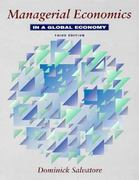 Managerial Economics in a Global Economy 3rd edition 9780070571150 0070571155