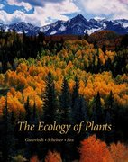 The Ecology of Plants 1st Edition 9780878932917 0878932917