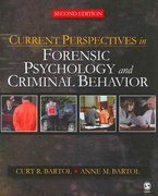 Current Perspectives in Forensic Psychology and Criminal Behavior 2nd edition 9781412958318 1412958318