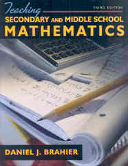 Teaching Secondary and Middle School Mathematics 3rd Edition 9780205569199 0205569196