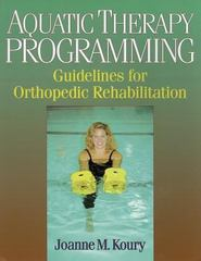 Aquatic Therapy Programming 1st edition 9780873229715 0873229711