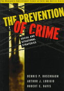 The Prevention of Crime 1st edition 9780534507602 0534507603