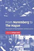 From Nuremberg to the Hague 1st Edition 9780521536769 0521536766