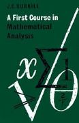 A First Course in Mathematical Analysis 0 9780521294683 0521294681