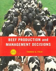 Beef Production Management and Decisions 5th Edition 9780131198388 0131198386
