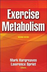 Exercise Metabolism 2nd Edition 9780736041034 0736041036