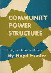 Community Power Structure 0 9780807840337 0807840335