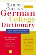 HarperCollins German College Dictionary 3rd edition 9780060515324 0060515325