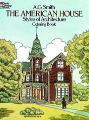 The American House Styles of Architecture Coloring Book 0 9780486244723 0486244725
