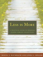 Less Is More 1st Edition 9780838909195 0838909191