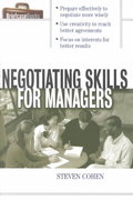 Negotiating Skills for Managers 1st Edition 9780071387576 0071387579