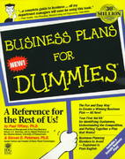 Business Plans For Dummies 1st edition 9781568848686 1568848684