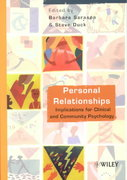 Personal Relationships 1st edition 9780471491613 0471491616