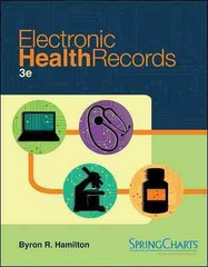 Electronic Health Records 3rd edition 9780073402147 0073402141