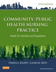Community/Public Health Nursing Practice 5th Edition 9781455707621 1455707627