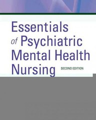 Essentials of Psychiatric Mental Health Nursing 2nd Edition 9781455706617 1455706612
