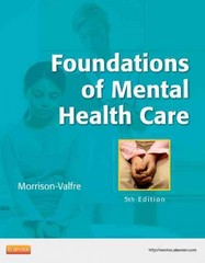 Foundations of Mental Health Care 5th Edition 9780323086202 0323086209