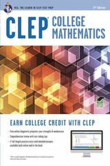 CLEP College Mathematics 2nd Edition 9780738610467 0738610461