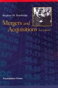 Mergers and Acquisitions, 3d 3rd Edition 9781609301323 1609301323